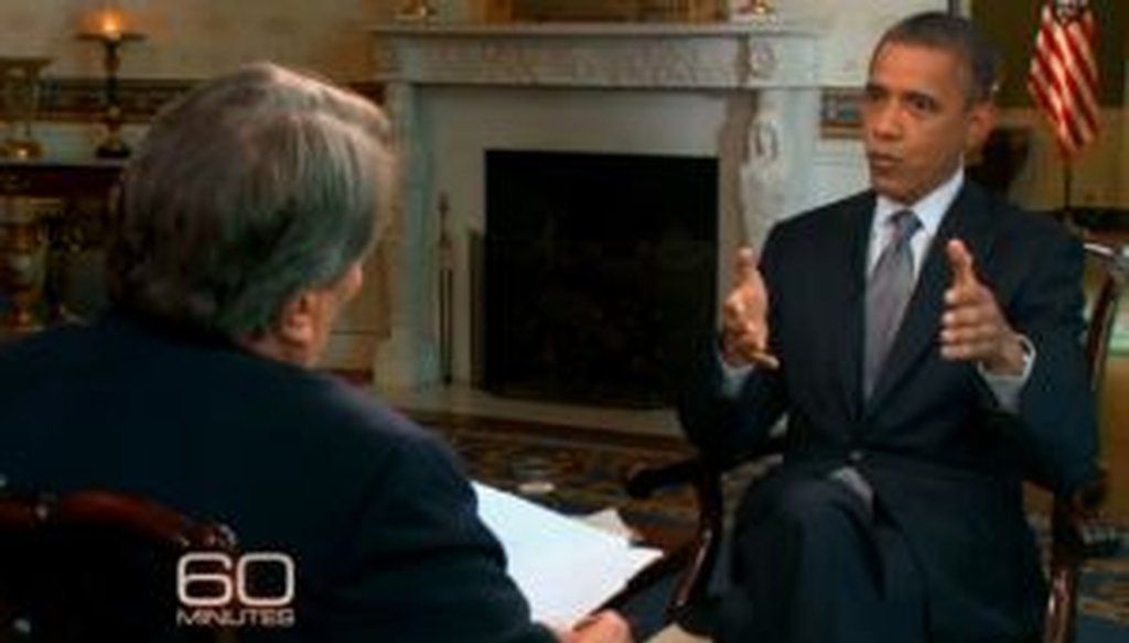 """When President Barack Obama sat down for an interview with """"60 Minutes,"""" he said taxes for families are lower now than in decades. We checked to see if that's correct."""