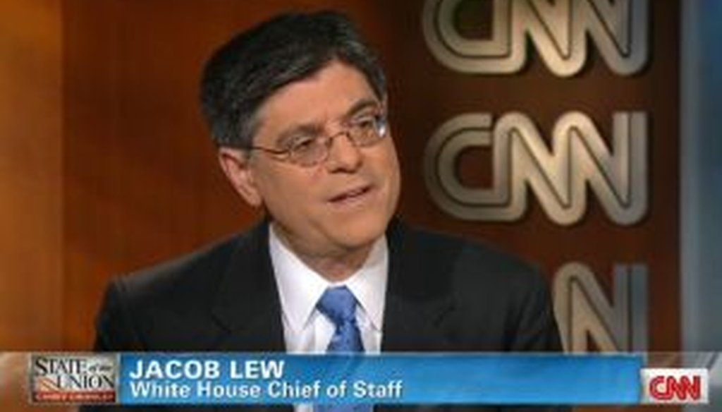 "Was White House chief of staff Jack Lew wrong about how many votes it takes to pass a budget in the Senate? We check a comment from CNN's ""State of the Union with Candy Crowley."""