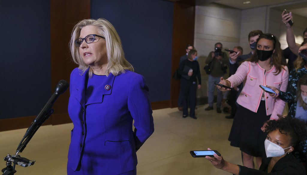 PolitiFact - Wisconsin Congressman Gallagher flips position on supporting Liz Cheney