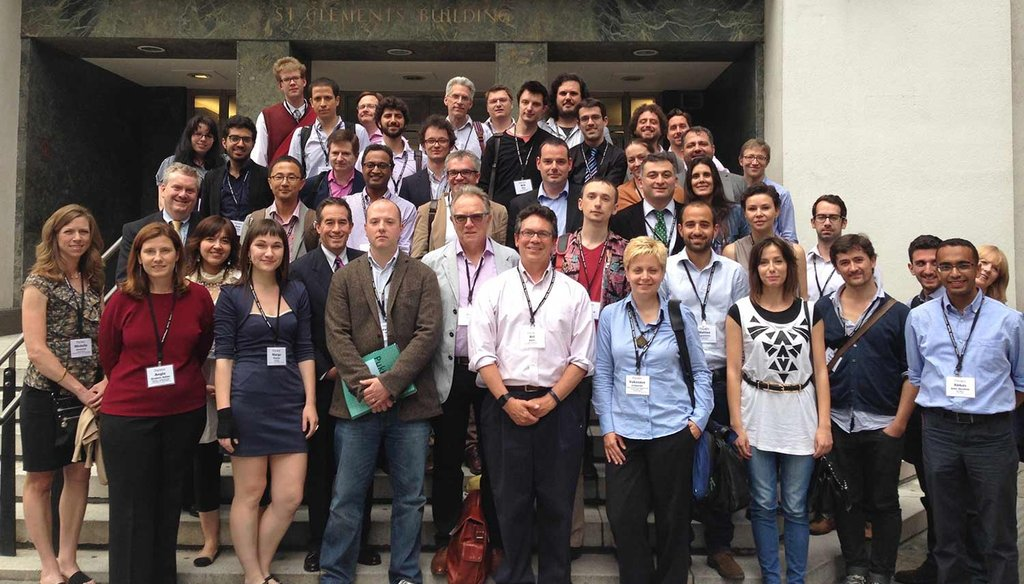 Fact-checkers from around the world met in June for the Global Fact-checking Summit in London.