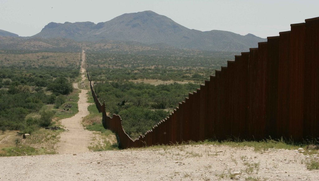 A 2006 federal law required a double-layered fence along hundreds of miles of the U.S.-Mexico border. But that law has since undergone significant changes. (U.S Fish & Wildlife Service photo)
