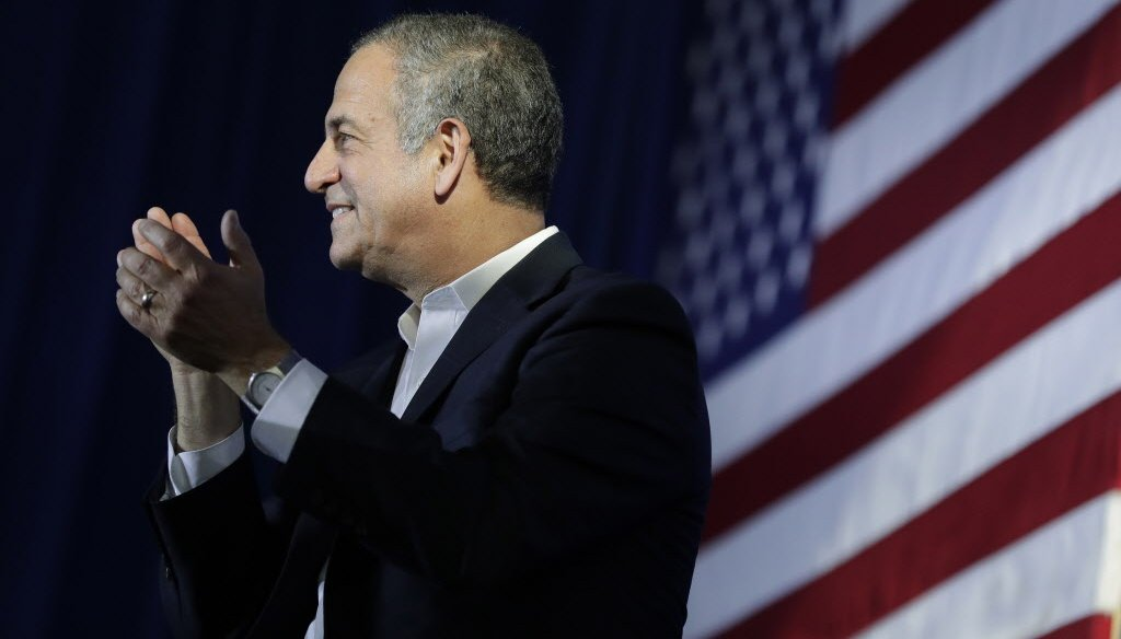 Former U.S. Sen. Russ Feingold, a Democrat trying to win back his seat, taught at Stanford University for a time while he was out of the Senate. (Dan Powers/USA TODAY NETWORK-Wisconsin)
