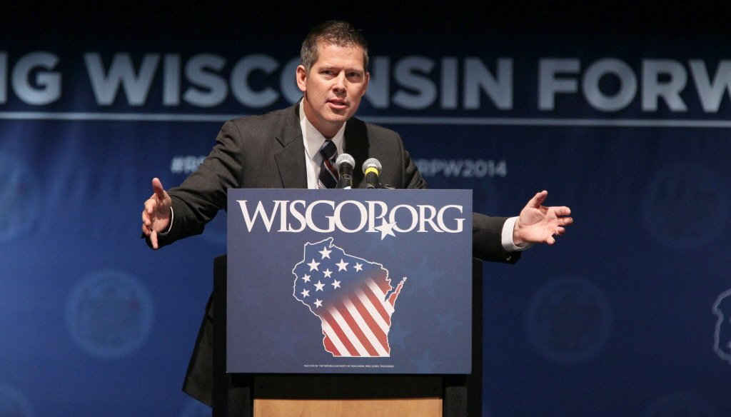 U.S. Rep. Sean Duffy is a Republican from Wisconsin.