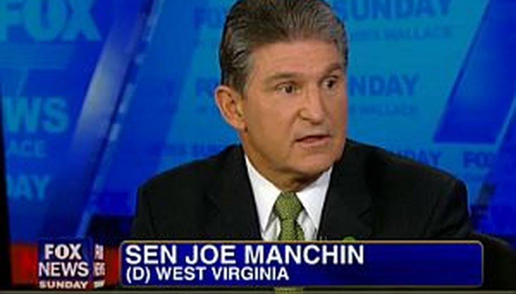 Sen. Joe Manchin, D-W.Va., said on 'Fox News Sunday' that he intends to revive his proposal on gun background checks.