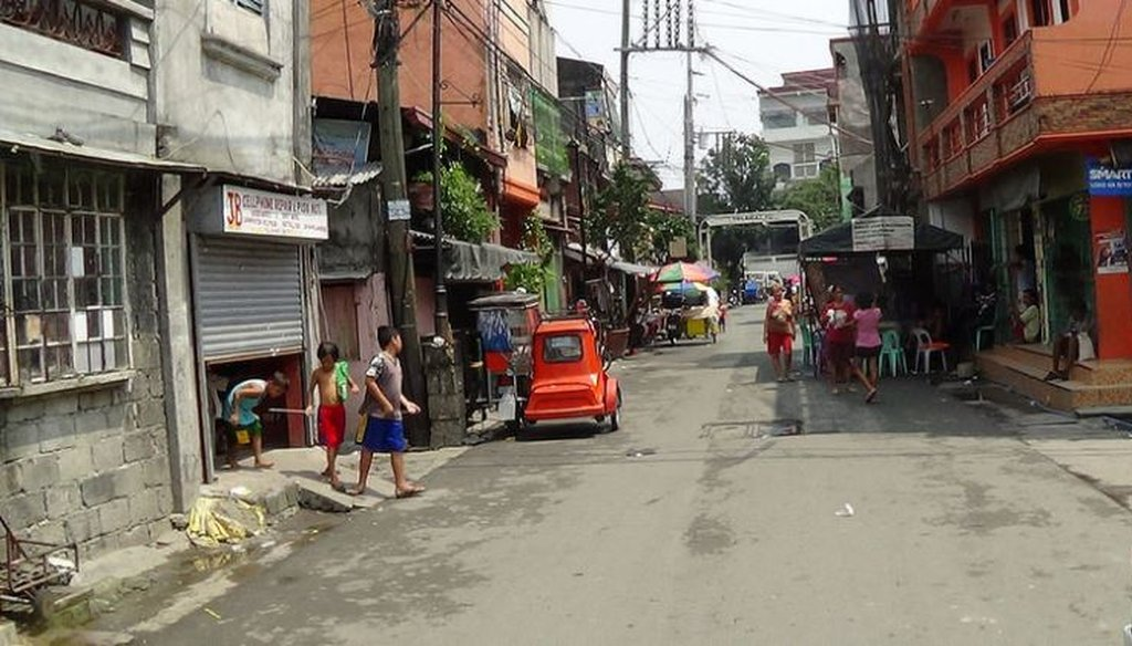A neighborhood in Metro Manila served by a private water company (via Flickr Creative Commons)