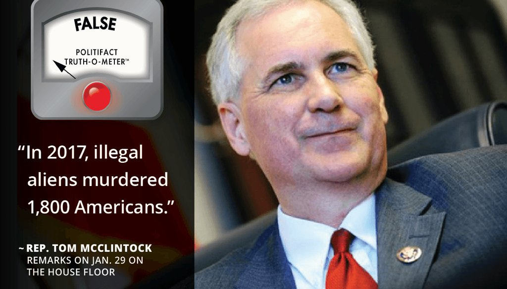 Rep. Tom McClintock, R-Calif. Graphic by PolitiFact California