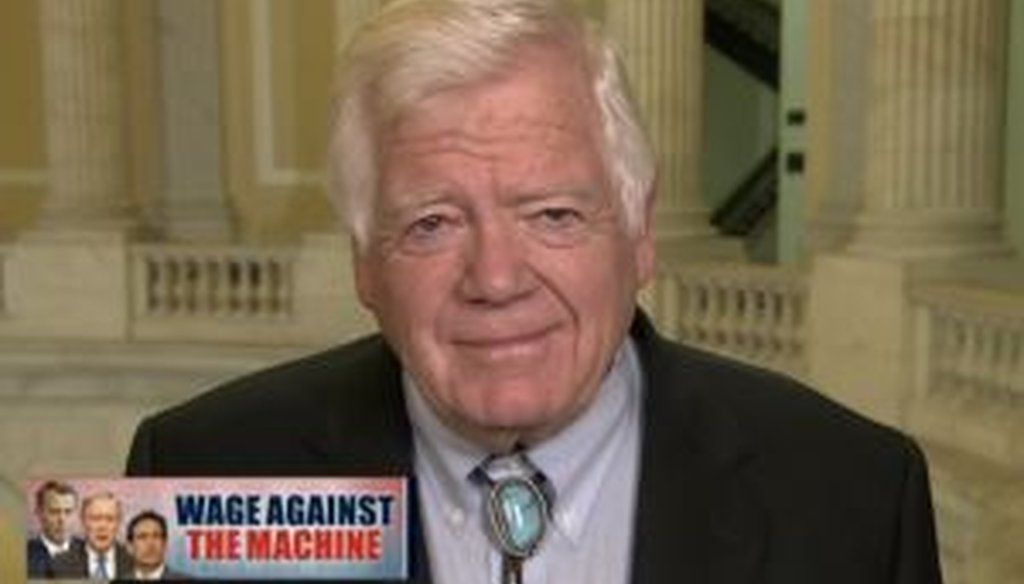 Rep. Jim McDermott, D-Wash., said on MSNBC that earning the minimum wage wouldn't get you half the way to the poverty level. Is that right?