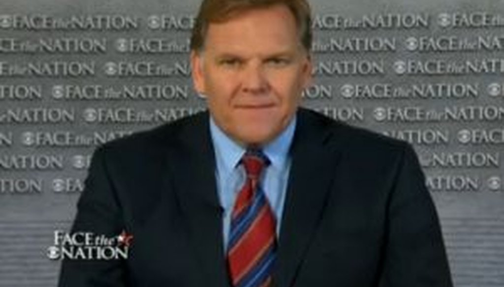 """Rep. Mike Rogers, R-Mich., discussed the investigation into alleged targeting of conservative groups by the IRS during a June 16, 2013, appearance on CBS' """"Face the Nation."""""""