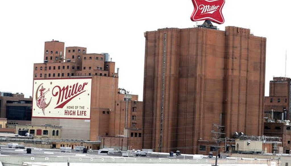 A mass shooting occurred Feb. 26, 2020 at Molson Coors in Milwaukee, where Miller beers are brewed. (Rick Wood/Milwaukee Journal Sentinel)