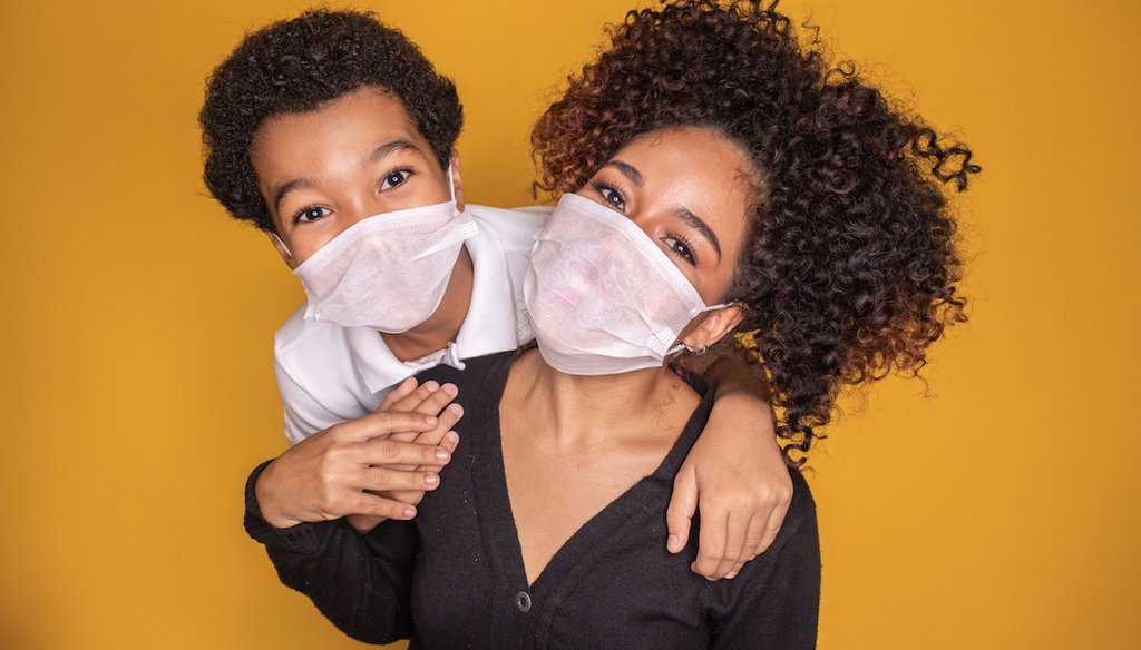 Public health doctors recommend masks for children over 2 years old. (Shutterstock)