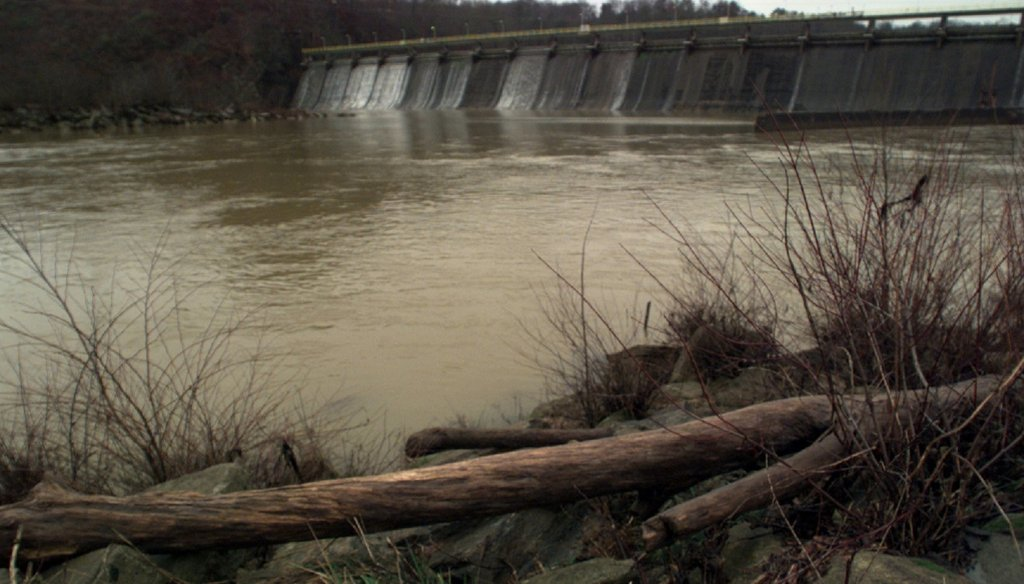 The Morgan Falls dam area along the Chattahoochee river is part of Georgia Power's network of hydroelectric facilities across Georgia. AJC File Photo by John Spink