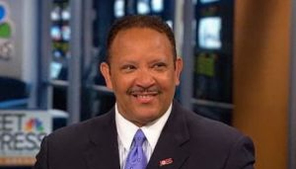 "National Urban League president Marc Morial said on ""Meet the Press"" that unemployment among blacks has actually worsened since the start of the recovery. Is he right?"