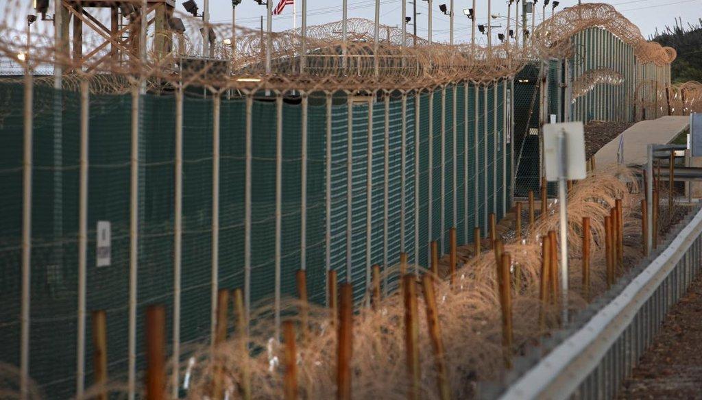 The Guantanamo Bay prison in Cuba, June 9, 2010. (New York Times file photo)