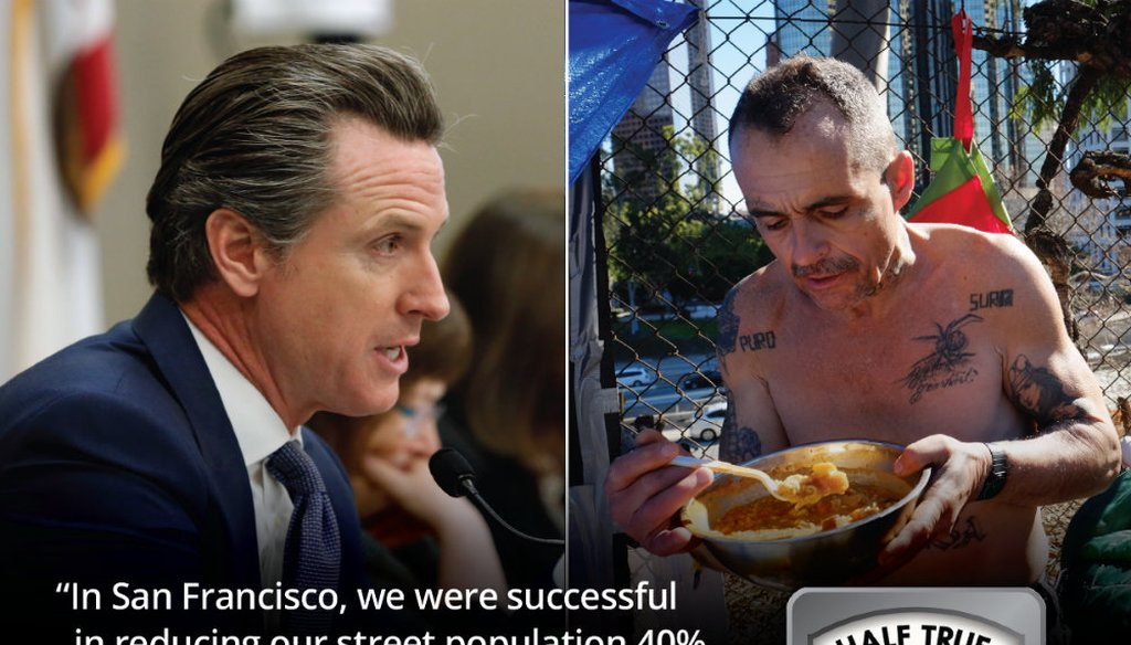 Gavin Newsom is a candidate for California governor / Graphic by Capital Public Radio