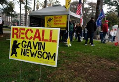 Are California recall leaders tied to militias and QAnon? We fact-checked Gov. Newsom's claims