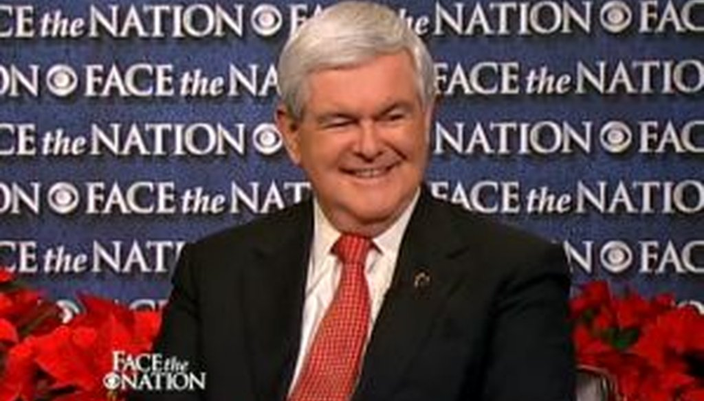 "Newt Gingrich articulated a forceful but controversial approach to the judiciary on the Dec. 18, 2011, edition of CBS' ""Face the Nation."""