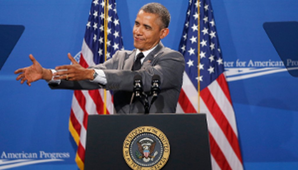 President Barack Obama speaks at The White House Summit on Working Families on June 23, 2014, in Washington.