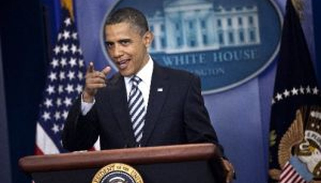 President Barack Obama speaks to the press after releasing a long form version of his birth certificate.