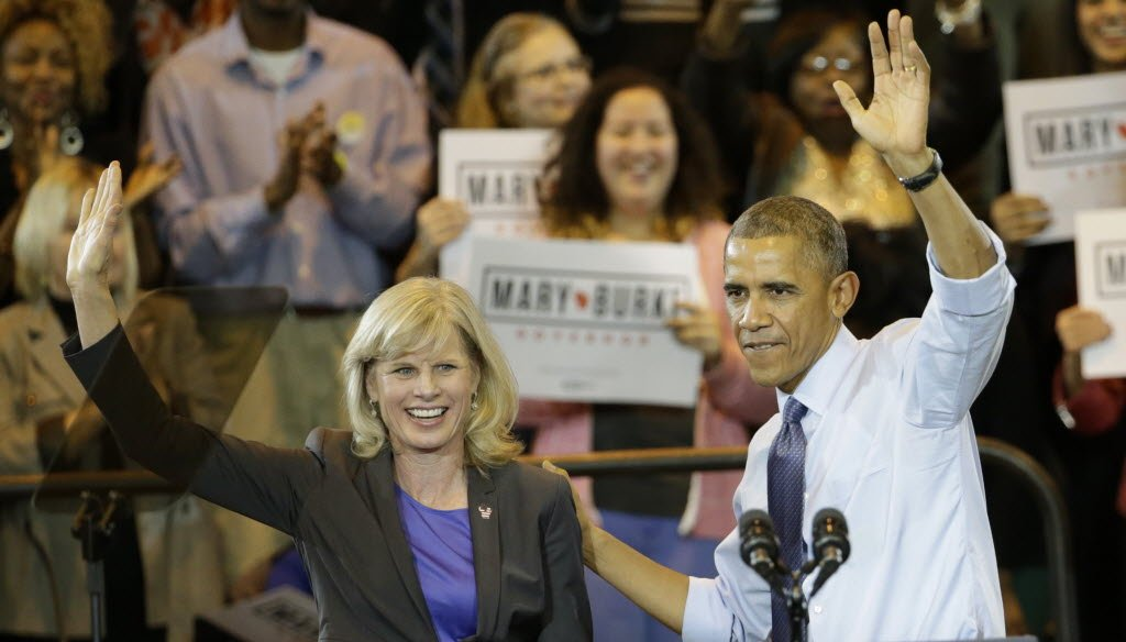 As Obama nears the end of his first term, we're checking to see if he's kept his campaign promises. (2012 AP Photo)