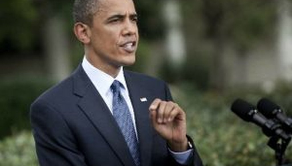 President Obama praised the new financial regulations passed by Congress on Thursday.