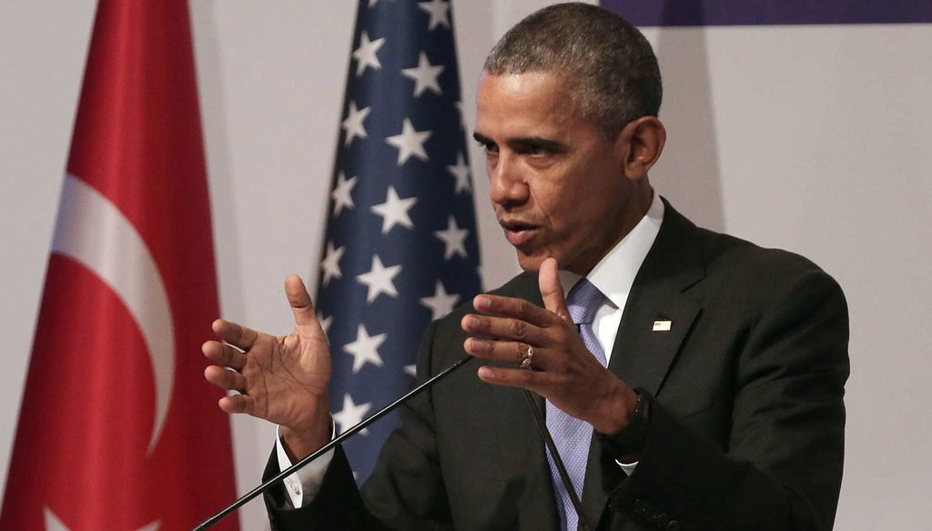 President Barack Obama speaks to the media during his closing press conference on day two of the G20 Turkey Leaders Summit on Nov. 16, 2015, in Antalya, Turkey. (Getty Images)