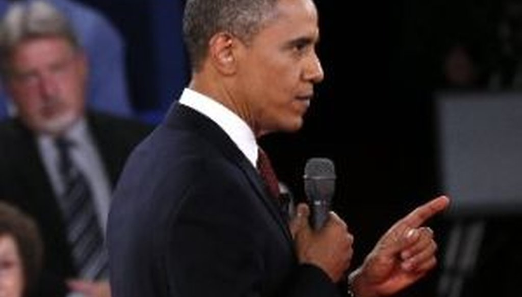 President Barack Obama and Mitt Romney squared off at Hofstra University in the second presidential debate of 2012.