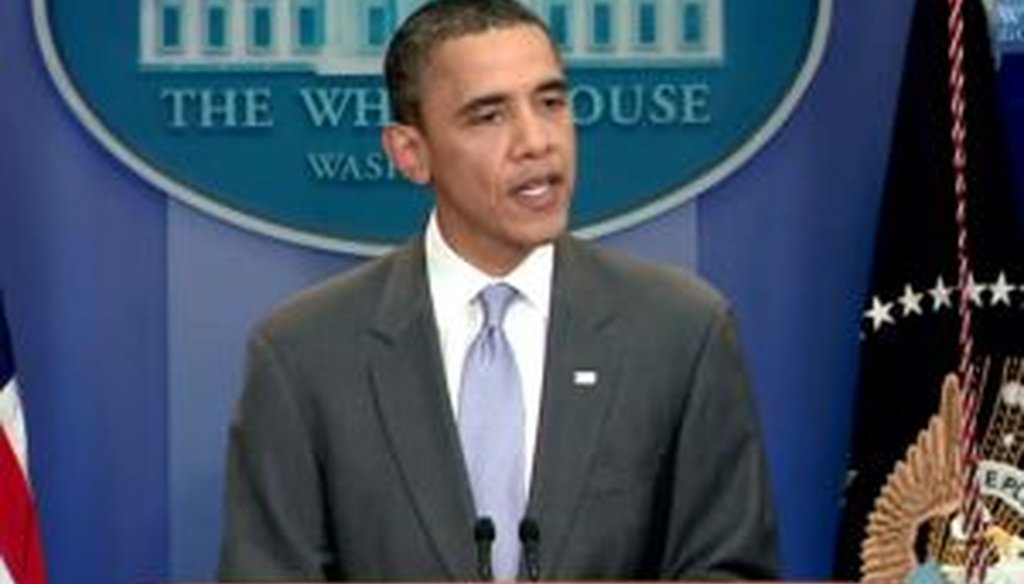 President Barack Obama announces a deal to raise the debt ceiling on July 31, 2011.
