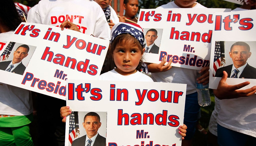 President Barack Obama is expected to deliver a speech Thursday, Nov. 20, that immigration activists hope will address millions of undocumented immigrants living in the United States.
