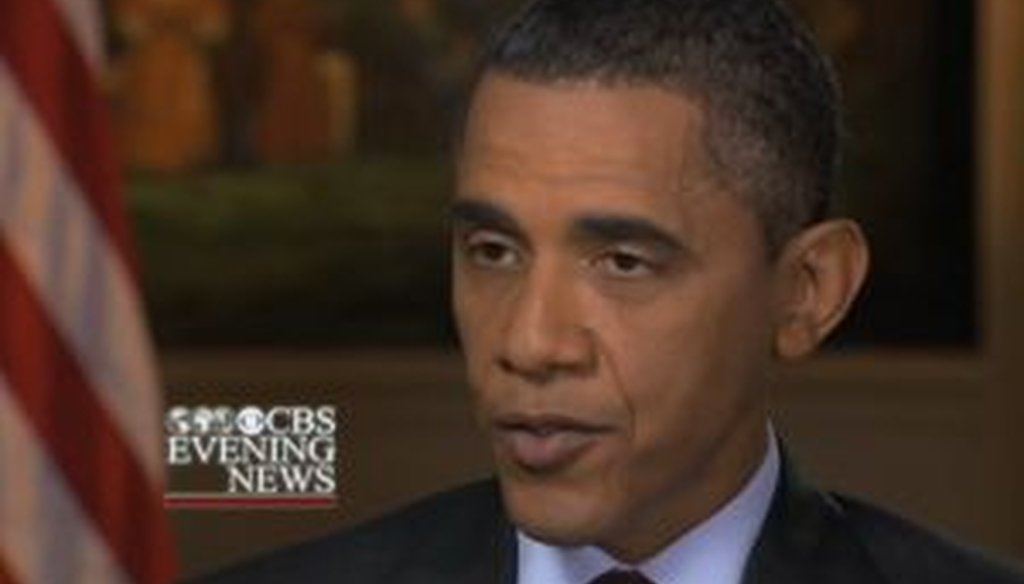 In an interview with CBS News, President Barack Obama raised the possibility that the federal government might not be able to send out Social Security checks if a debt ceiling deal is not reached. We checked his claim.
