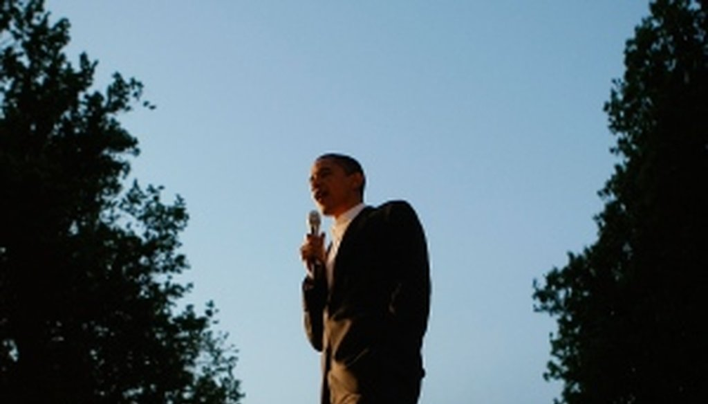 On the campaign trail in 2008, Barack Obama promised more transparency in the White House.