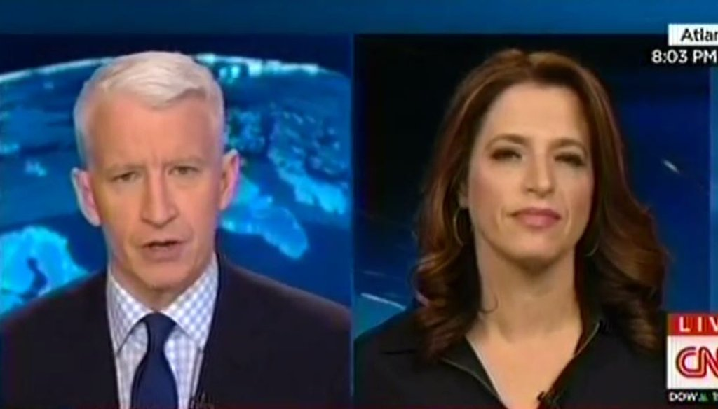 CNN senior medical correspondent Elizabeth Cohen explains how contagious measles in a talkback with Anderson Cooper on Feb. 2, 2015.