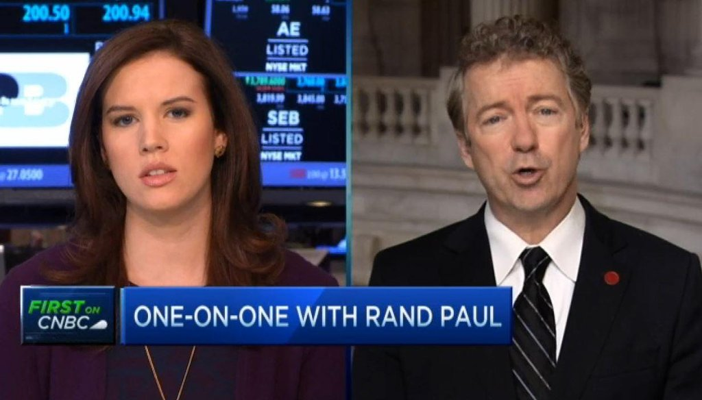 One claim we heard a lot after Sen. Rand Paul's interview with CNBC was he should know better. After all, he is an eye surgeon.