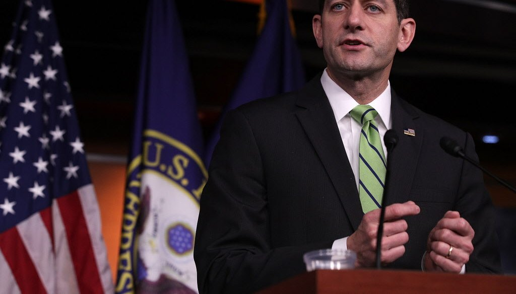 U.S. House Speaker Paul Ryan, R-Wisconsin, has been a frequent critic of Obamacare. (Getty)