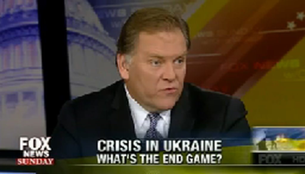 U.S. Rep. Mike Rogers, R-Mich., said he thinks Russia is looking to reacquire Crimea from Ukraine.