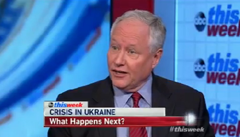 """Bill Kristol discusses the events in Ukraine on ABC's """"This Week."""""""
