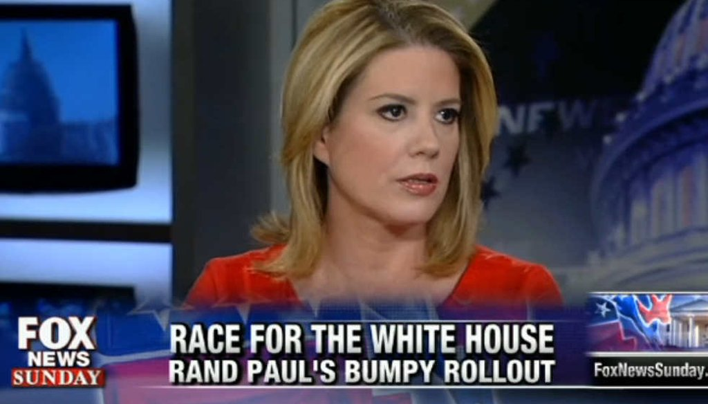 USA Today columnist Kirsten Powers accused Sen. Rand Paul, R-Ky., of denying that he proposed cutting aid to Israel.