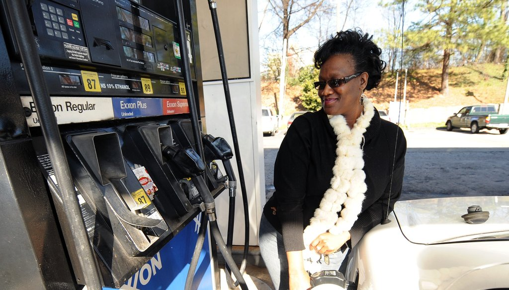 Some state political leaders have signaled they may consider increasing the gasoline tax to raise money for more transportation projects in Georgia.  Johnny Crawford /jcrawford@ajc.com