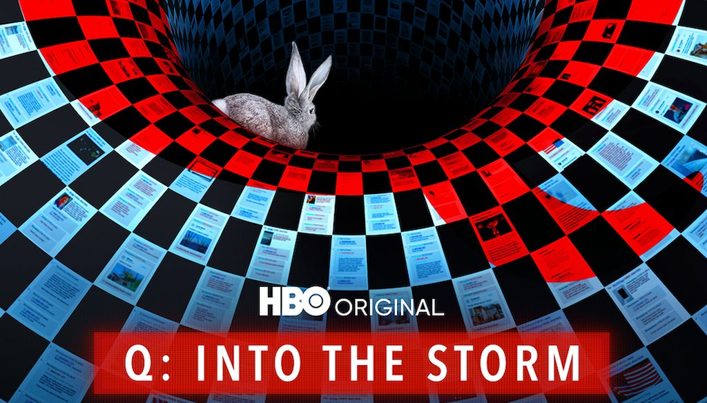 """The new HBO documentary series """"Q Into the Storm"""" by filmmaker Cullen Hoback attempts to shed light on the origins of the QAnon movement. Courtesy HBO"""