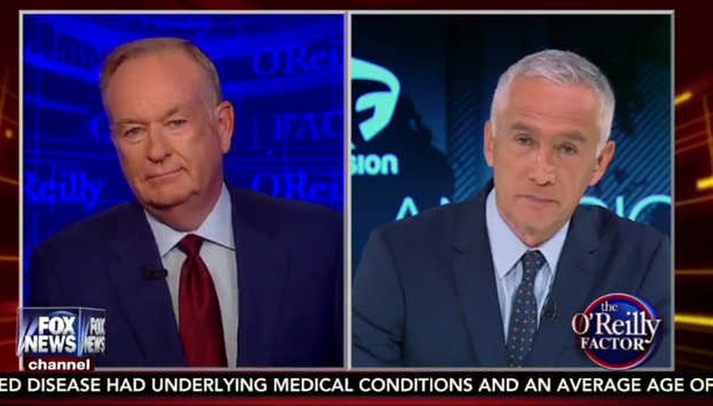 Univision and Fusion news anchor Jorge Ramos discussed a U.S.-Mexico border wall on Fox News (screengrab)