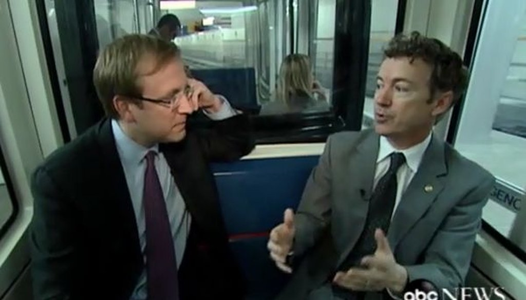 Sen. Rand Paul, R-Ky., in a 2011 interview with ABC News' Jonathan Karl.