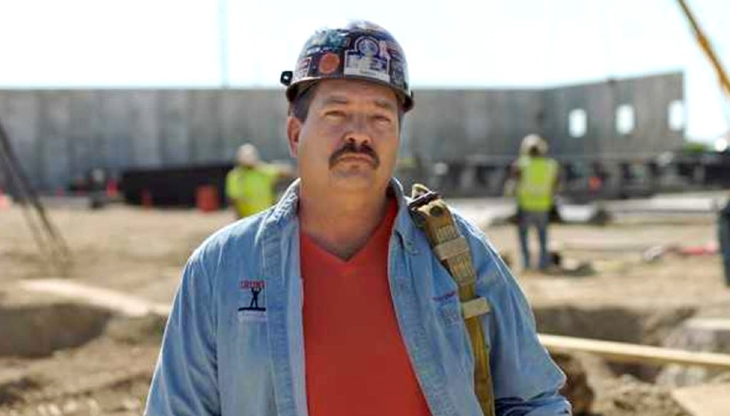 Randy Bryce, a candidate for Paul Ryan's U.S. House seat, has emphasized his union credentials. (Campaign photo)