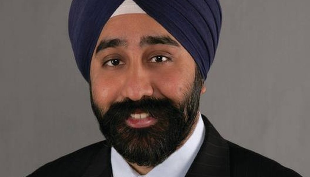 Ravi Bhalla, the first Sikh elected mayor in Hoboken, New Jersey, was previously a city council member. (Photo courtesy of the city of Hoboken)