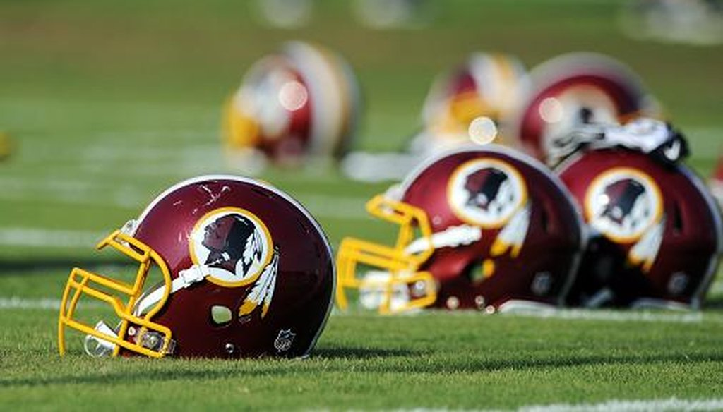 The Washington Redskins are appealing a decision by the U.S. Patent and Trademark Office that cancels a team trademark because it was ruled to be derogatory. AP Photo.