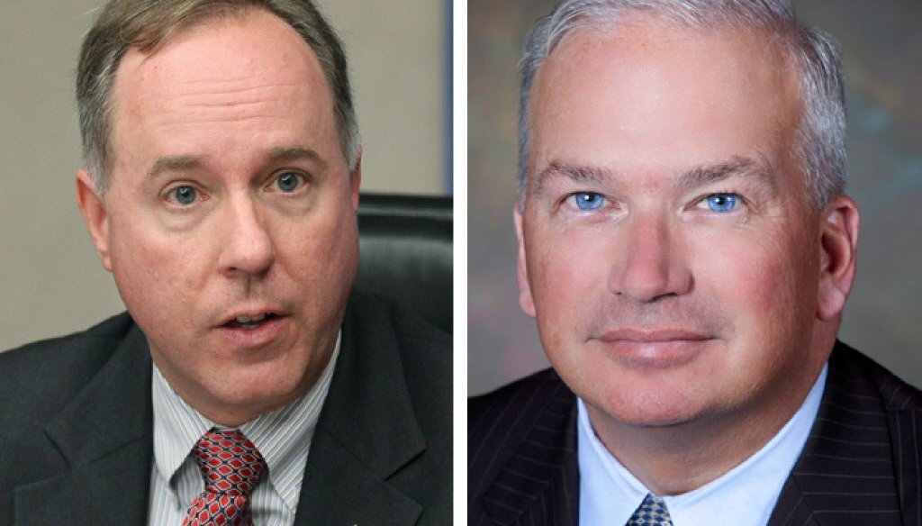 Wisconsin Assembly Speaker Robin Vos (left) and Senate President Scott Fitzgerald are fast-tracking legislation to make Wisconsin a right-to-work state.