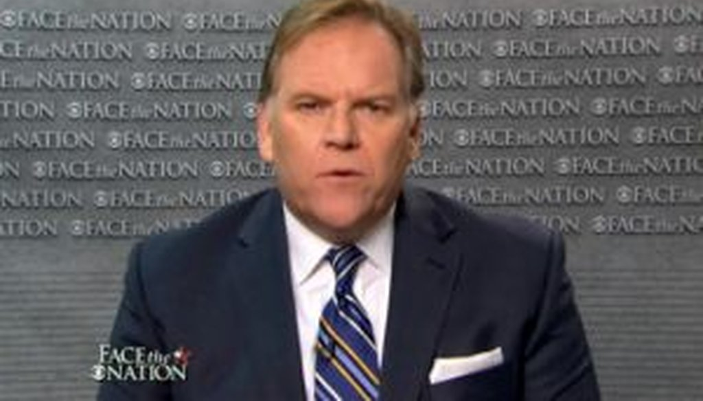 """House Intelligence Committee chairman Mike Rogers, R-Mich., brought up an episode in American intelligence history from 1929 during an interview on CBS' """"Face the Nation."""""""