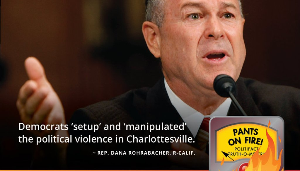 In this July 17, 2007 file photo, Rep. Dana Rohrabacher, R-Calif., testifies on Capitol Hill in Washington. (AP Photo/Gerald Herbert)