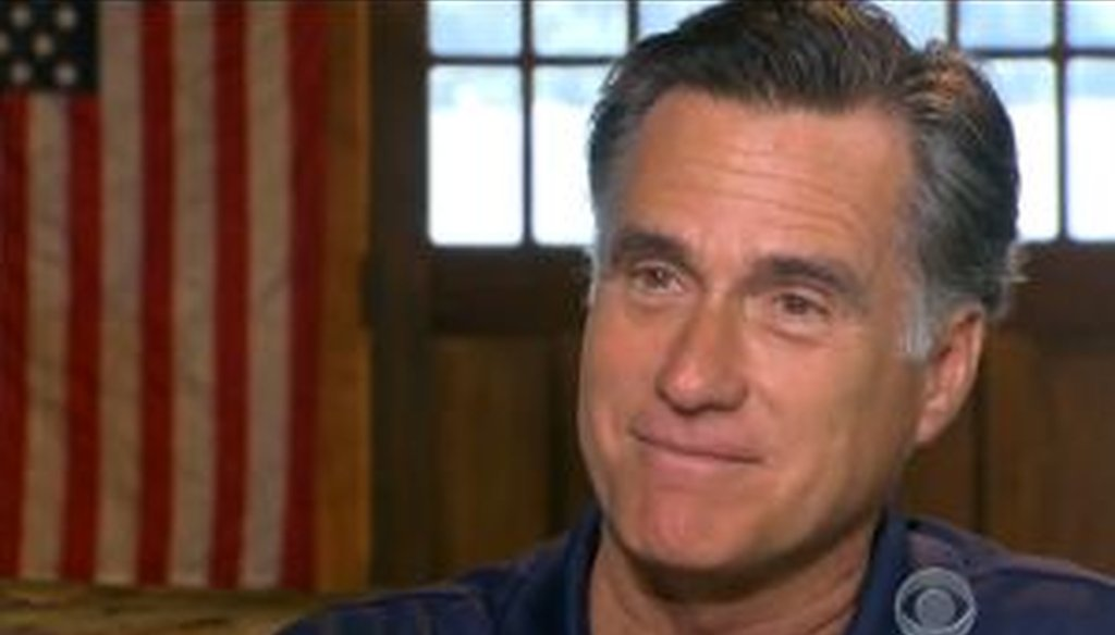 """In a CBS News interview, Mitt Romney said that the Supreme Court's """"final word is that Obamacare is a tax."""" We checked with a range of legal scholars to see if that was correct."""