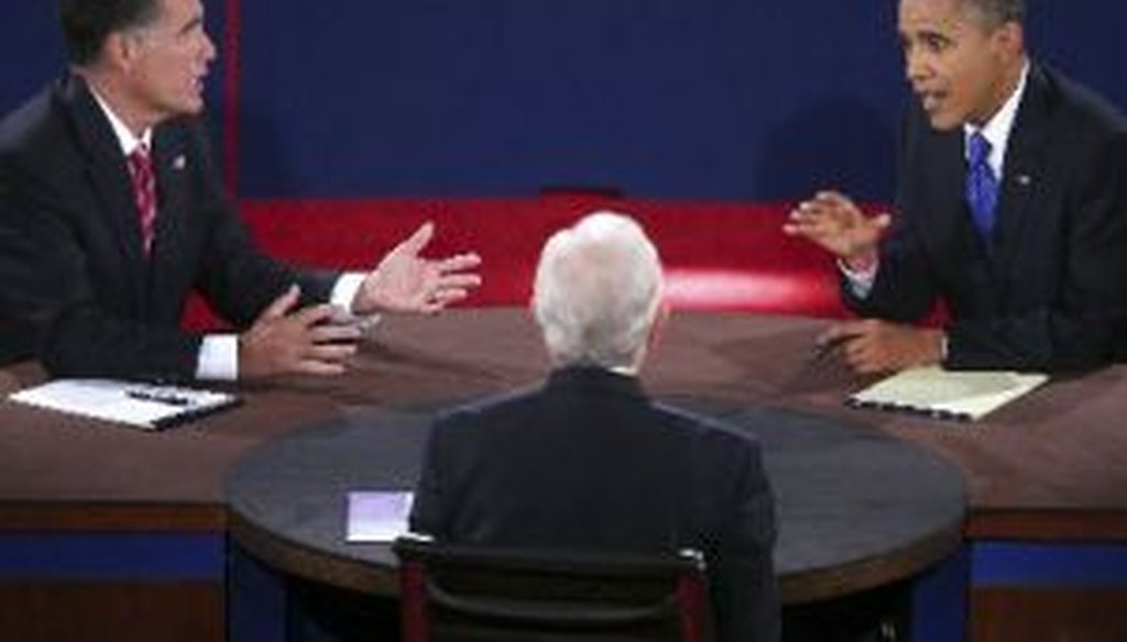 Mitt Romney and President Barack Obama squared off in Boca Raton, Fla., for the third and final presidential debate, focused on foreign policy.