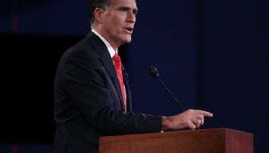 Mitt Romney faced off against President Barack Obama in the first presidential debate of 2012 in Denver. We checked several claims from the debate.