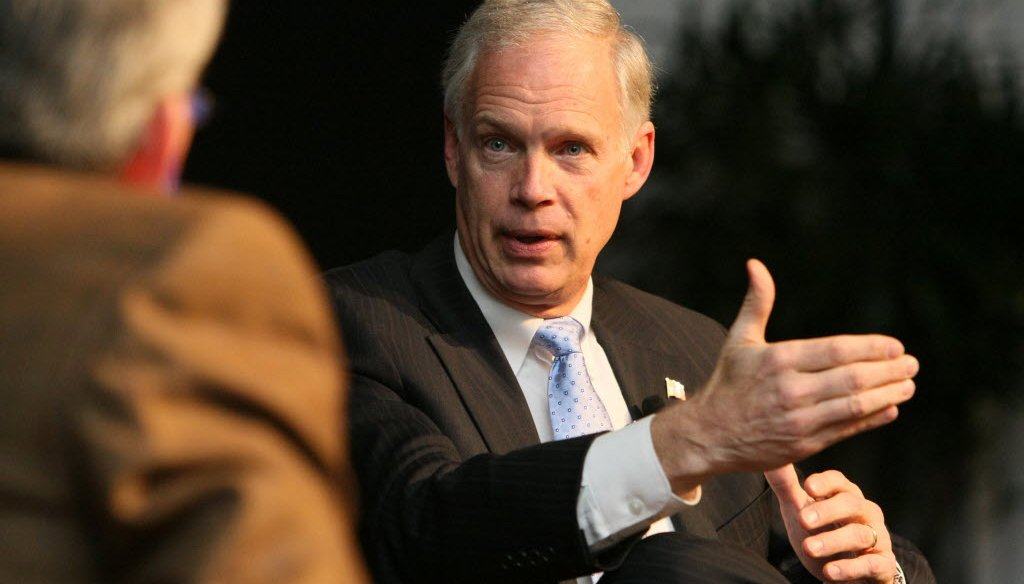 Republican Ron Johnson, Wisconsin's senior senator, cracked into our High Five last month when we evaluated his claim about gun control